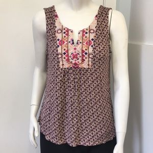 A COMMON THREAD AZTEC PRINT TOP SIZE LARGE